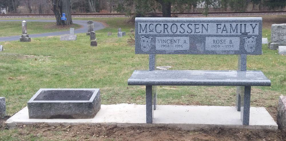 Memorial Benches Tunkhannock Memorial Benches Meshoppen