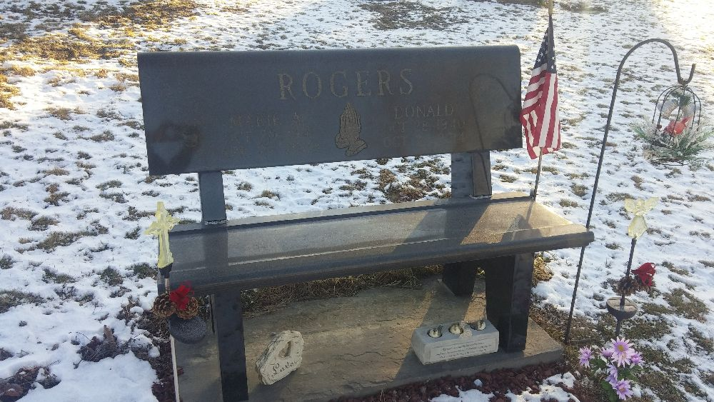 Benches For Grave Sites Memorial Benches Tunkhannock